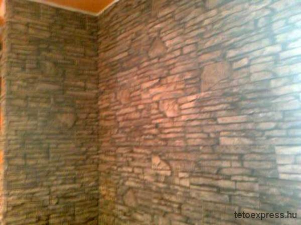 2012. Hasított kőburkolat