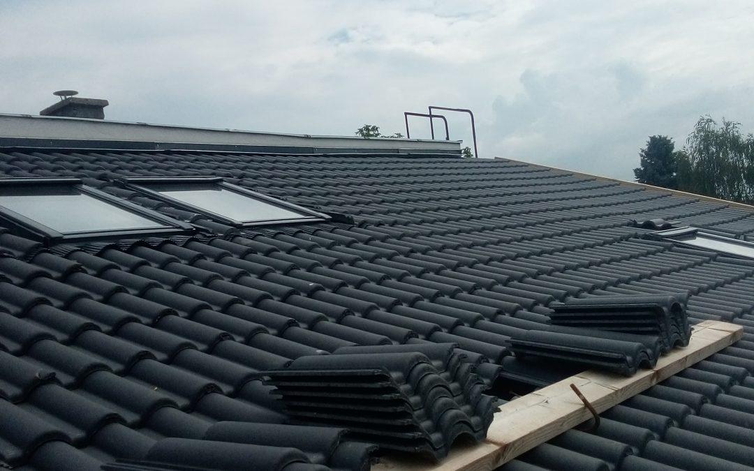 Bramac cserép, tetőjavítás