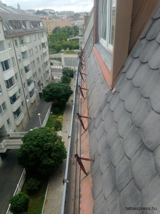 Pala tető javítás